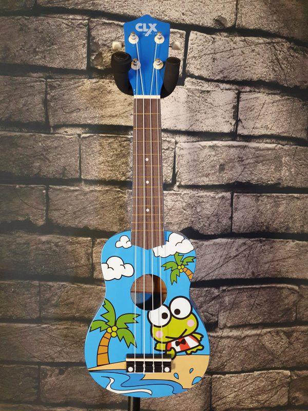 clx ukulele frog
